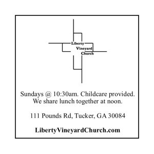 Liberty Vineyard Church service