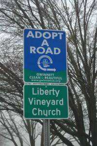 liberty adopt-a-road