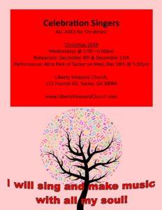 Celebration Singers - Christmas music!
