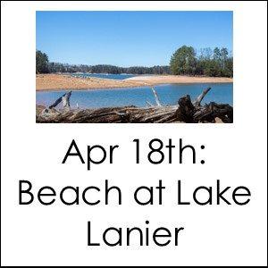 Choose Your Adventure - Beach at Lake Lanier @ Van Pugh North Beach, Lake Lanier