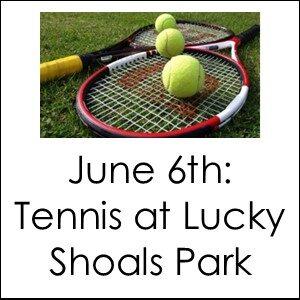 Choose Your Adventure - Tennis at Lucky Shoals Park @ Lucky Shoals Park